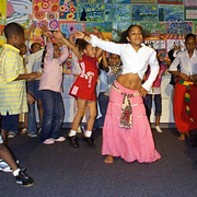 Dancers Perform at Cape Verdean Night